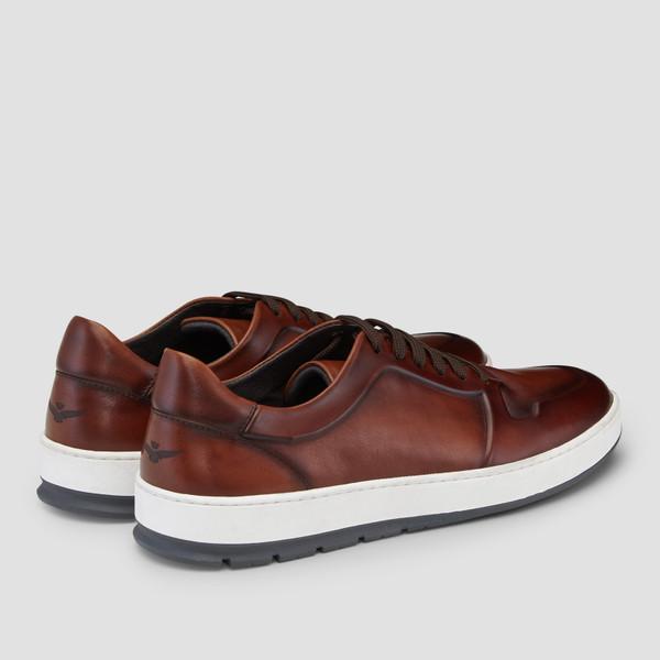 Zaniolo Tan Sneakers