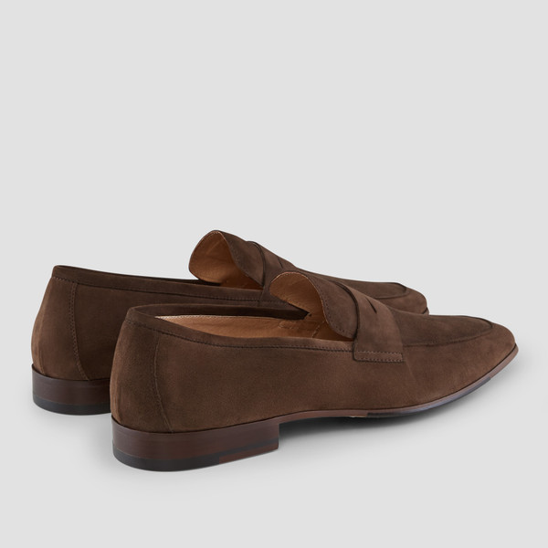 Manuel Brown Penny Loafers