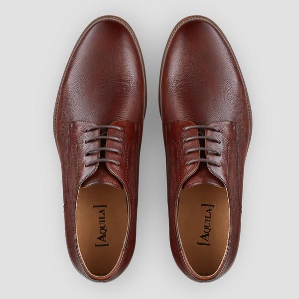 Dobin Tan Derby Shoes