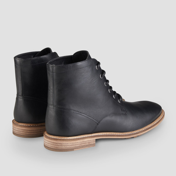 Chilwell Black Ankle Boots