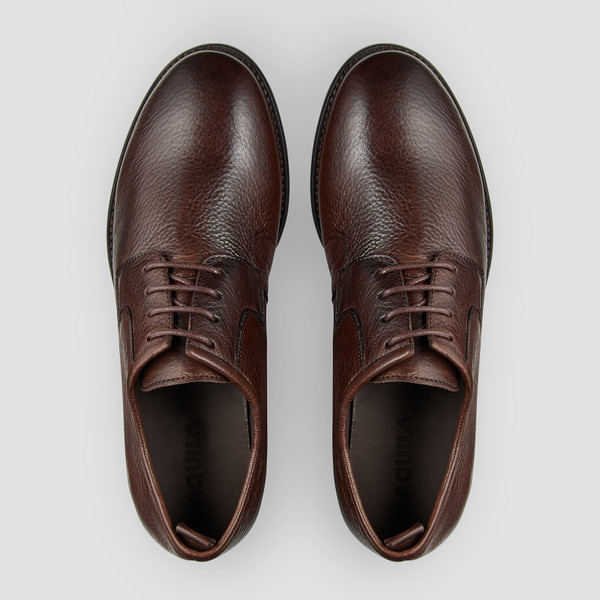 Hudley Brown Lace Up Shoes