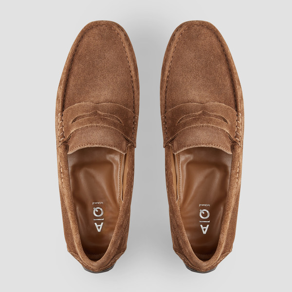 Deluca Almond Driving Shoes