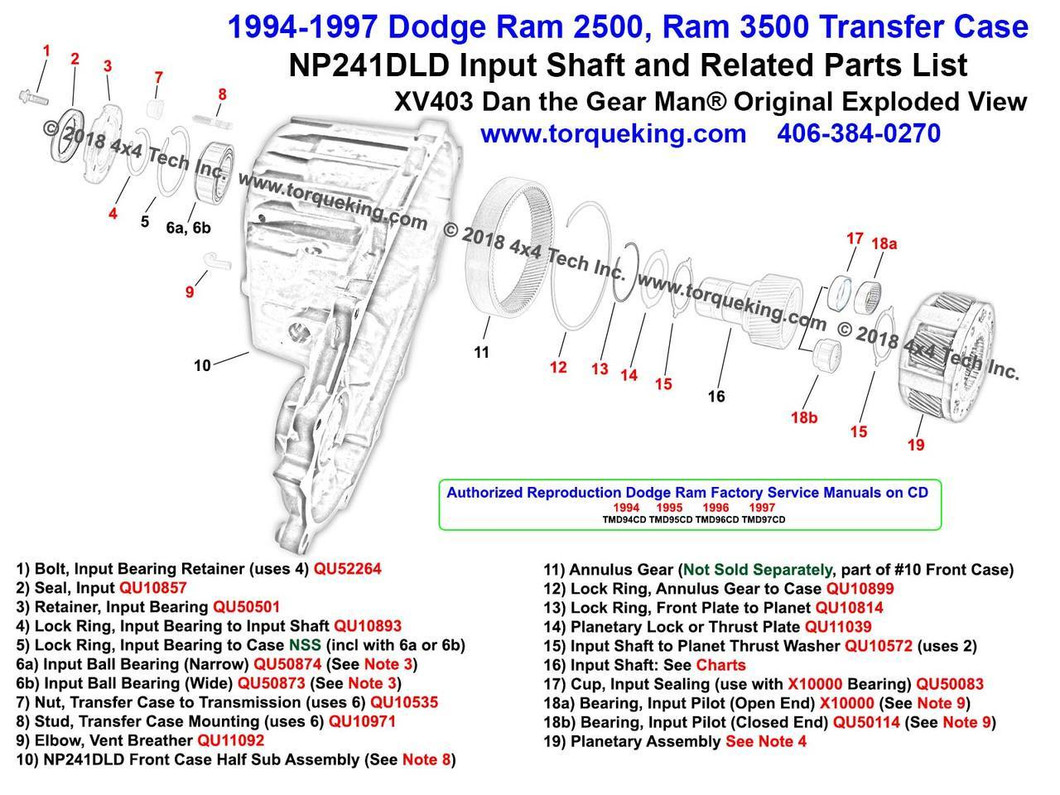 241 transfer case diagram wiring diagram databasexv403 1994 1997 dodge ram np241dld transfer case input shaft 93 dakota transfer case 231 241 transfer case diagram