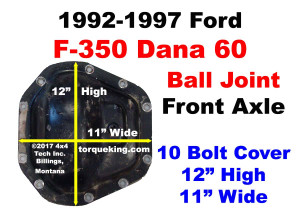 Dana 60 Parts, Tools, Manuals for 1992-1997 Ford F350 Front Axle