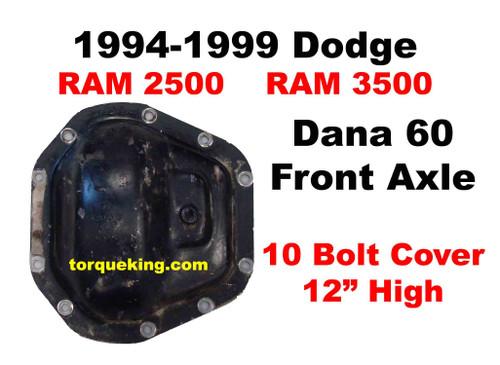 Dodge Ram 2500, Ram 3500 Dana 60 Front Axle Parts 1994-1999