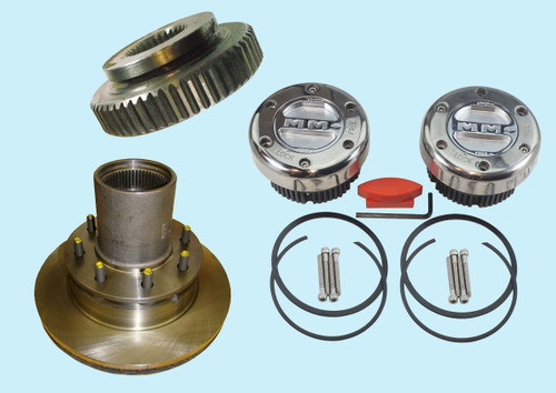 Hubs and Hub Parts for 1975-1993 Dodge W200, W250, W300, W350 Dana
