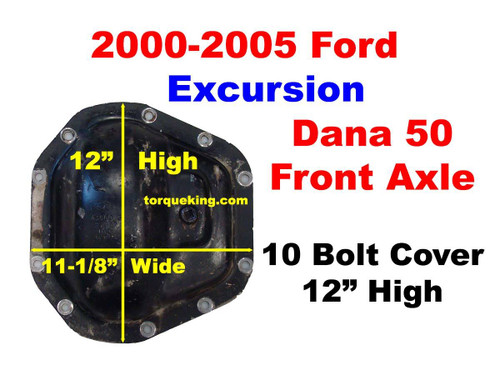2000-2005 ford excursion dana 50 front axle