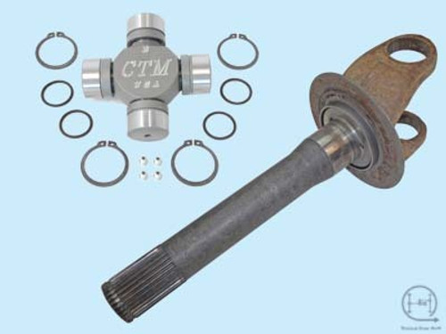 Dana 60 Axle Shafts and U-Joints for 1978-1979 Ford F250