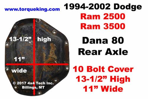 Dana 80   Buy Parts  Tools  and Manuals for 1994 to 2002