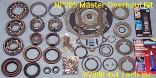 TK2030 NP205 Master Overhaul Kit 1969-1984 GM with 27 Spline Input