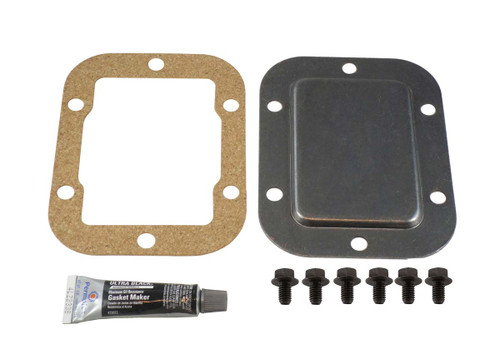 QK2174 6 Bolt PTO Cover Kit with Steel Cover Plate, 6 Bolts and Gasket