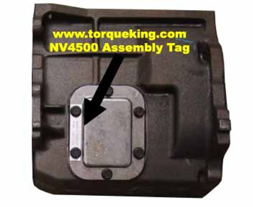 Transmission Tag Identification | Learn About Dodge, GMC
