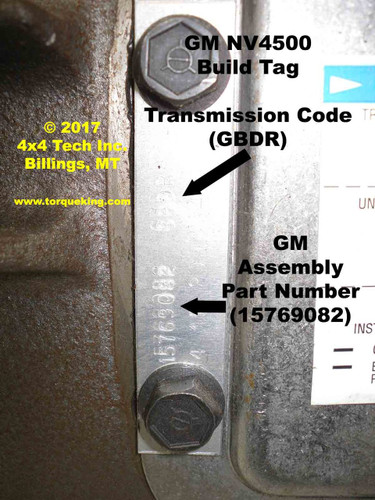dodge ram 2500 transmission codes