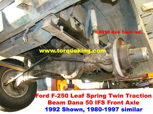 Dana 50 Front Axle Identification | Learn About 1980-1997 Ford Dana