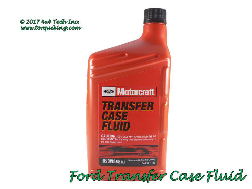 ford f350 manual transmission fluid