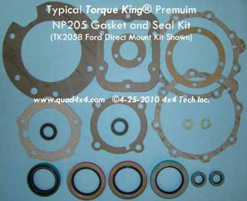 TK2051 Premium Gasket and Seal Kit for 1969-1984 10 Spline GM NP205