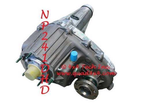 Dodge NP241DHD Transfer Case Parts, Tools, Info 1998-2002