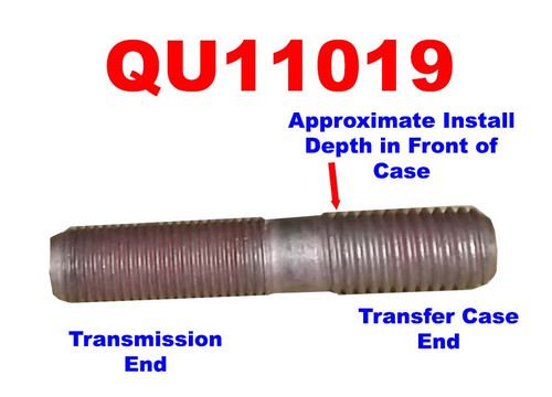 QU11019 Transfer Case to Transmission Mounting Stud for Ram