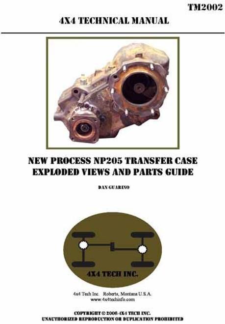 repair manual for np208 transfer case