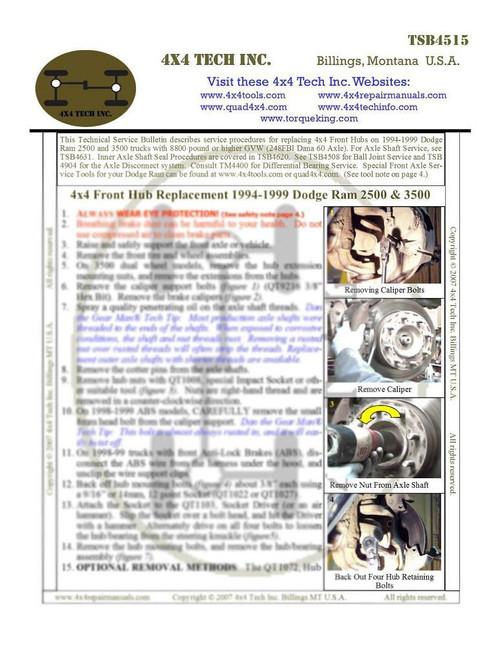 Dodge Ram 5-Link front Coil-Link Suspension | Torque King 4x4