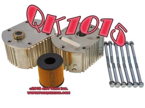 QK1015 Filter and Double Cooler Kit for Manual Transmissions
