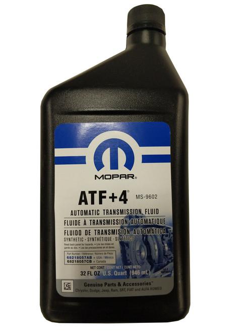 Automatic Transmission Fluid >> Mopar 68218057ab Atf 4 Automatic Manual Transmission Tcase Fluid