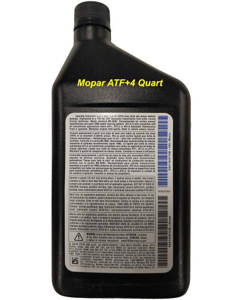 Mopar® 68218057AB ATF+4® Automatic, Manual, Transmission, TCase Fluid