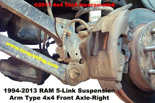 Dodge Ram 5-Link front Coil-Link Suspension | Torque King 4x4