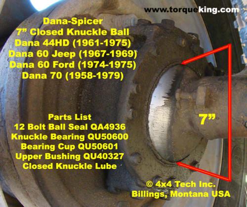 ID My Dany Dodge Dana 70 Front Axle