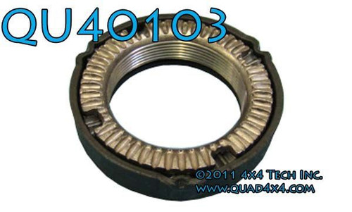QU40103 Left Hand Thread Ratchet Type Rear Axle Spindle Nut