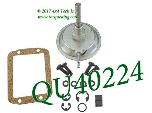QU40224 Vacuum Shift Motor Kit for Dana CAD Front Axles