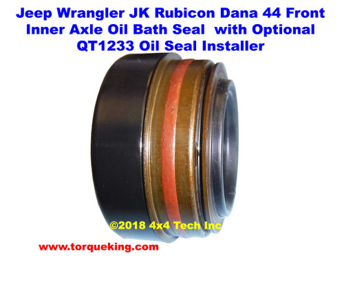 D440600 Oil Bath Type Inner Axle Shaft Seal for 2012-2018 Jeep JK