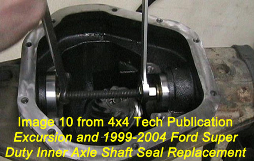 Tsb4643p Inner Axle Seal Replacement Tech Service Bulletin