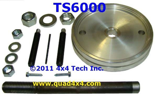 TS6000 Rear Crank Seal Installer Tool Set for Cummins 5 9L & 6 7L Diesels