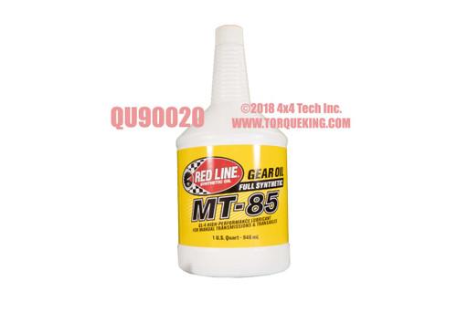 QU90020 75w85w NV4500 Manual Transmission Oil by RedLine 1 Quart
