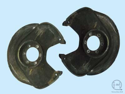 Chevy GM 4WD dana 44 10 bolt Disc Brake CALIPER MOUNTING BRACKET w//Full Shield