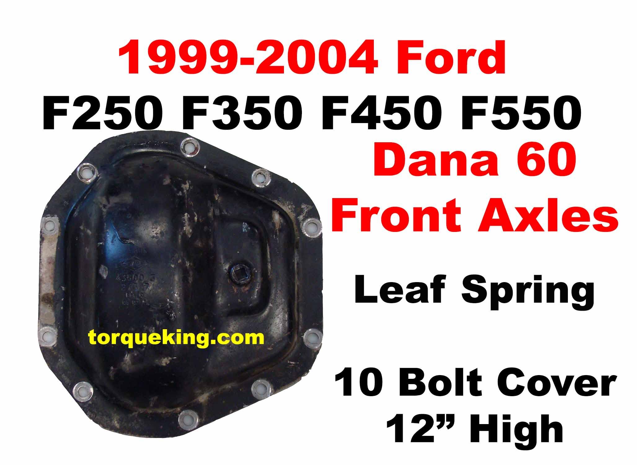 2014 f350 wheel torque specs