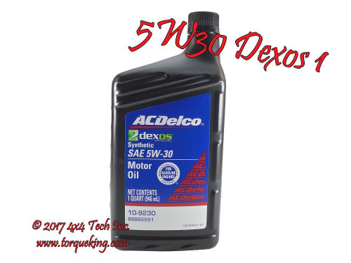 ac delco 10 9246 dexos1 5w30 engine oil gm 88865991 1 quart bottle rh torqueking com