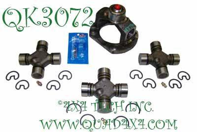 QK3072 1330x3R Custom Front Driveshaft Rebuild Kit for 2003-2005 Ram
