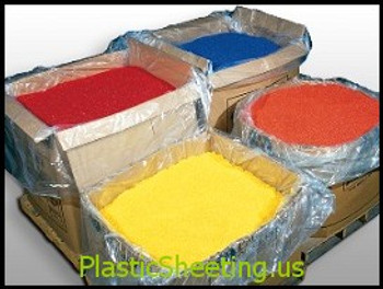 Pallet Covers 51x49x73 1.5 Mil  50 Bags per roll Clear