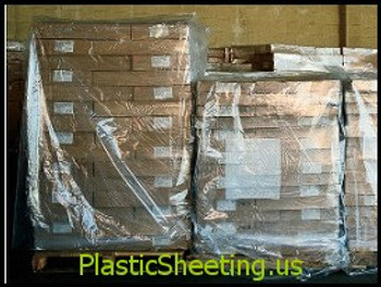 Pallet Covers 51x49x73 2.0 Mil S-12485 |S-13546  Clear  50 bags per roll