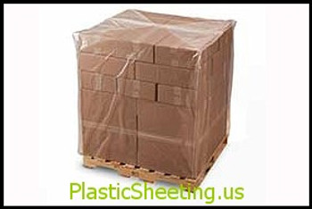 Pallet Size Shrink Bags on Rolls  50X44X57X004 25/RL  #13520  Item No./SKU