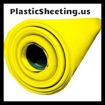 Yellow Guard 15 Mil Vapor Barrier Sheeting