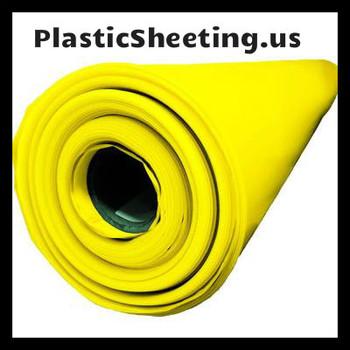 Yellow Guard 15 Mil Vapor Barrier Sheeting Class A