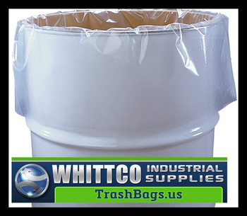 Contractor bags 3 mil Clear  50 count 60 Gallon (246889-CL)
