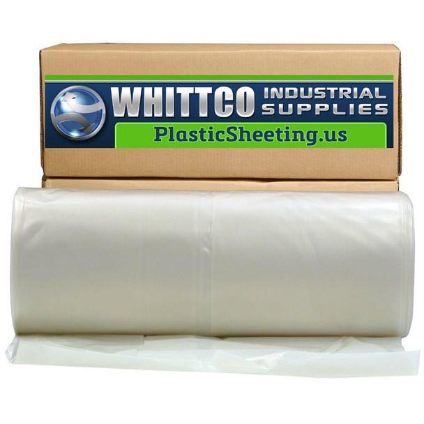 Flame Retardant Plastic Sheeting  20' X 100' 6Mil Clear