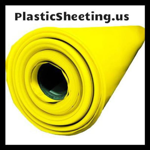 Yellow Guard 15 Mil Vapor Barrier Sheeting