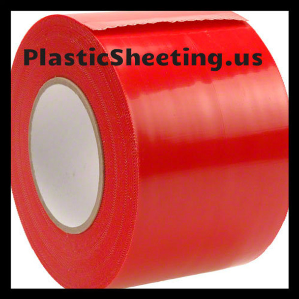 Plastic Sheeting Gripping Tape Yellow Guard