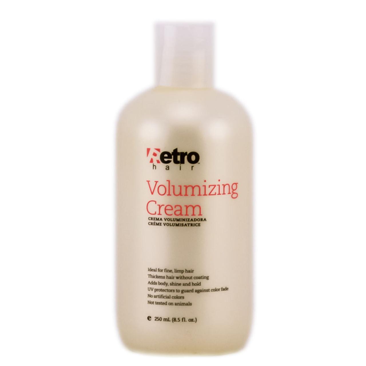 Retro Hair Volumizing Cream Sleekshop Formerly Sleekhair 8 Oz