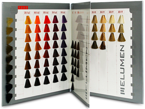 Goldwell elumen color chart book sleekshop com formerly sleekhair
